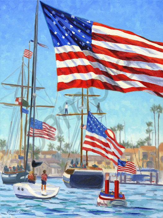 Old Glory Boat Parade