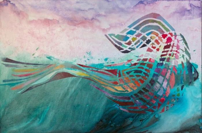 Breach-abstract-whale-original-painting-michael-serafino-wet-paint-nyc_1_izktwe