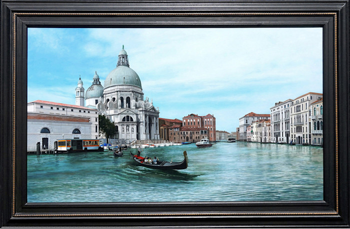 Kevin_grass-venice_framed-acrylic_on_panel_painting_qtol92