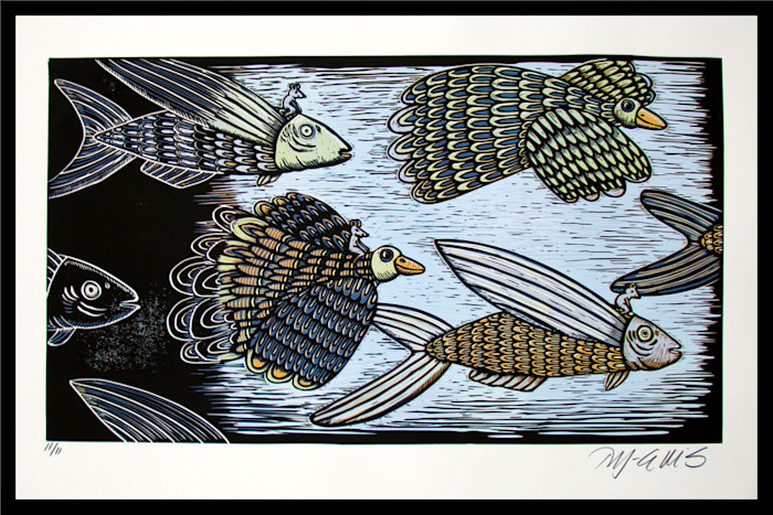 Feather_and_fin_110f11_framed_evn2je