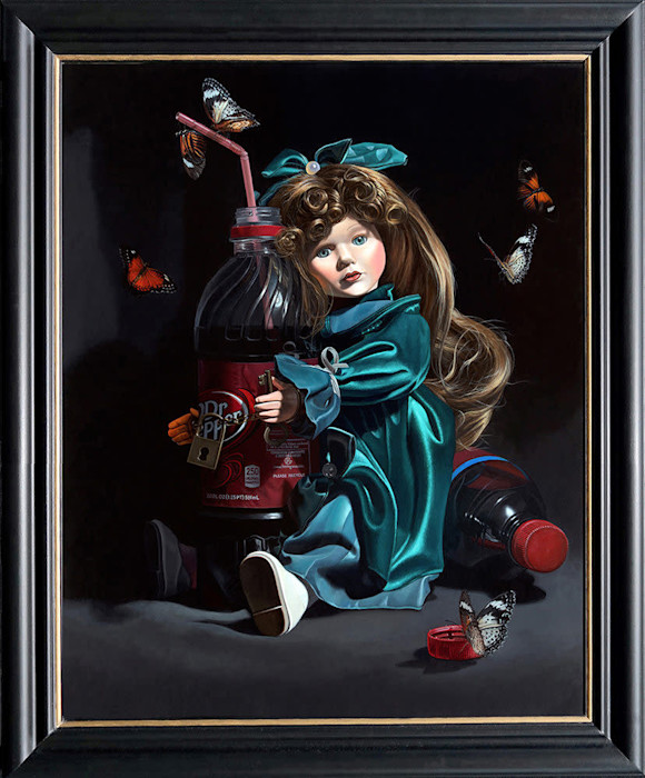 Kevin_grass-sugar_baby_framed-acrylic_on_panel_painting_qwnzvz