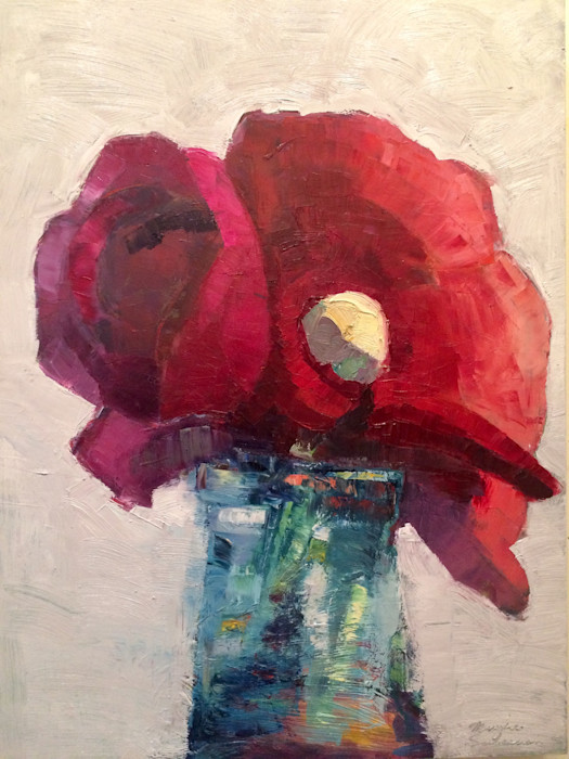 Together_still_life_with_red_pink_ranunculus_and_bud_enfolded_oil_and_mixed_media_on_wood_24x18_zfijzg