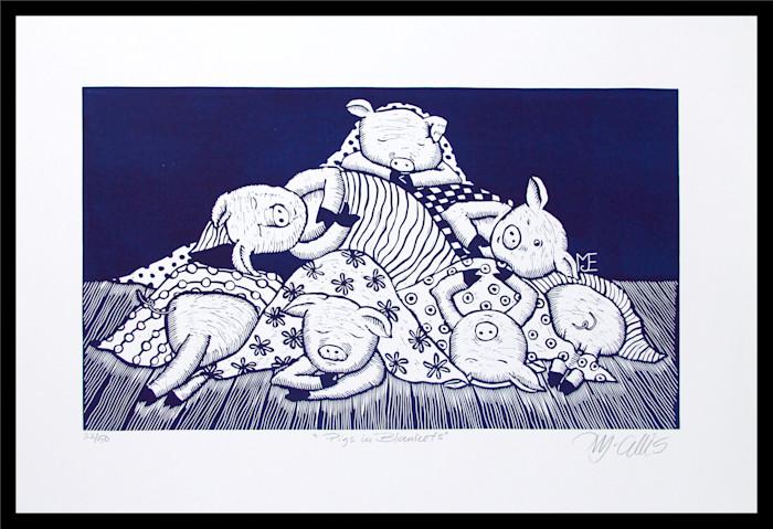 Pigs_in_blankets_navy_framed_qxotnm