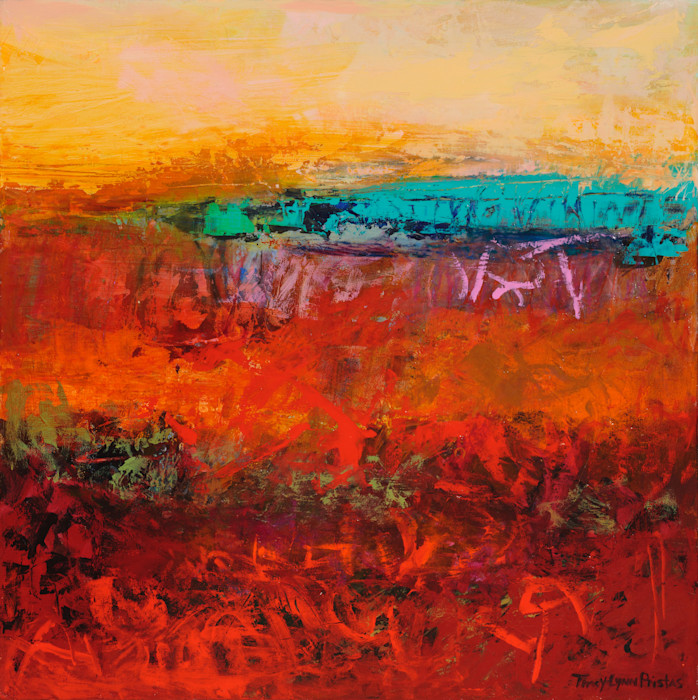 Tracy_lynn_pristas_abstract_landscape_southwestern_art_mesa_glory_18_x_18_vtrnep