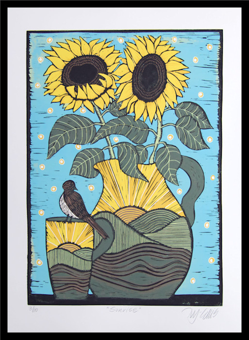 Sunflowers_framed_nz39pk