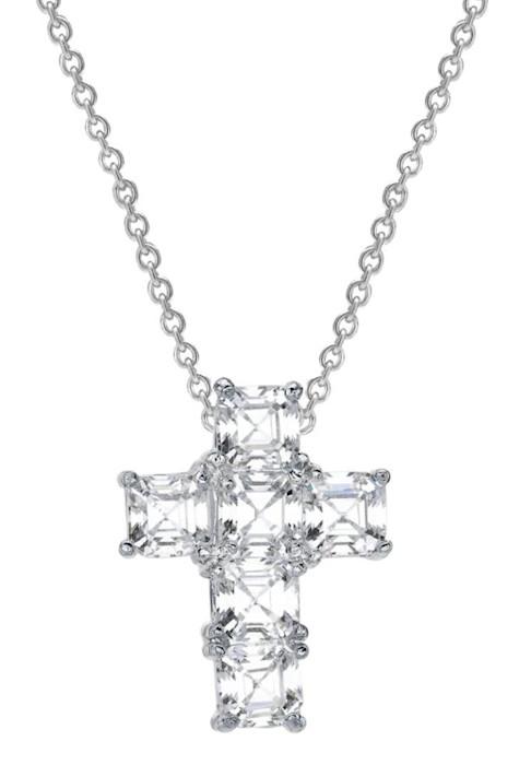 Silver_asscher_cut_canterbury_cross_o41ec1