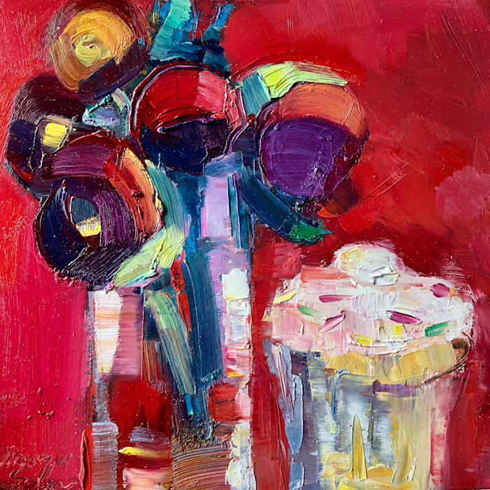 Together_still_life_with_magenta_peony_buds_and_cupcake_oil_6x6_rqupgy