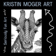 "Kristin Moger ""Seriously Fun"" Art"