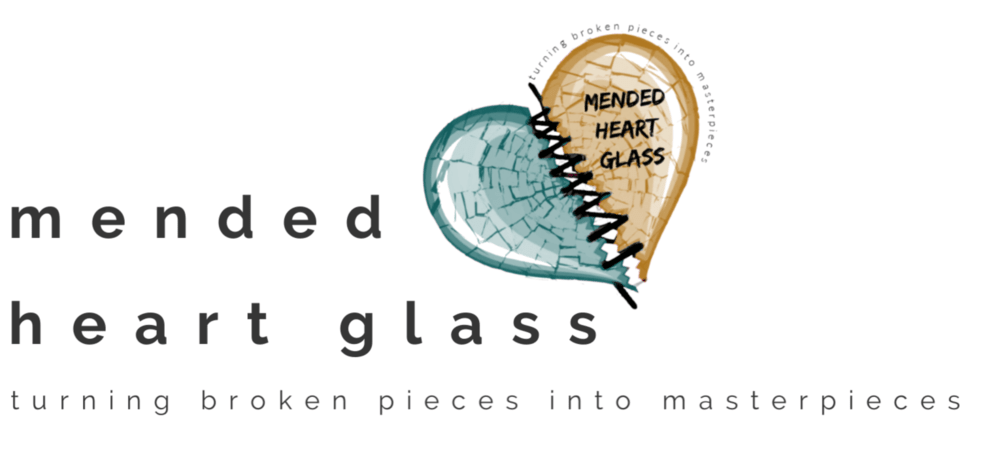 Mended Heart Glass