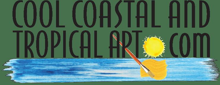 Cool Coastal & Tropical Art