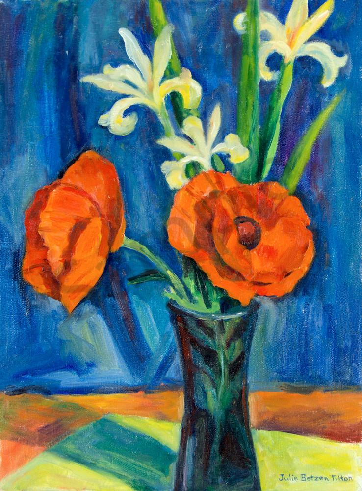 Red Poppies By Julie Betzen Tilton