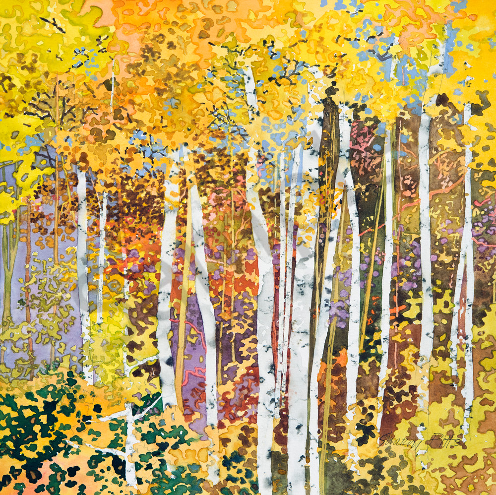 Autumn Birches Iii Al Shapit148813