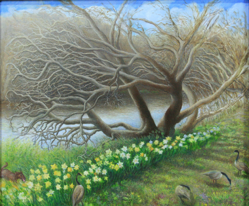 Catawba-Tree-with-Daffodils---Painting---Rafferty-m1v0v7