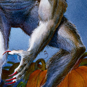 Werewolf-with-Pumpkins-detail-claw-and-knee-awz2wk