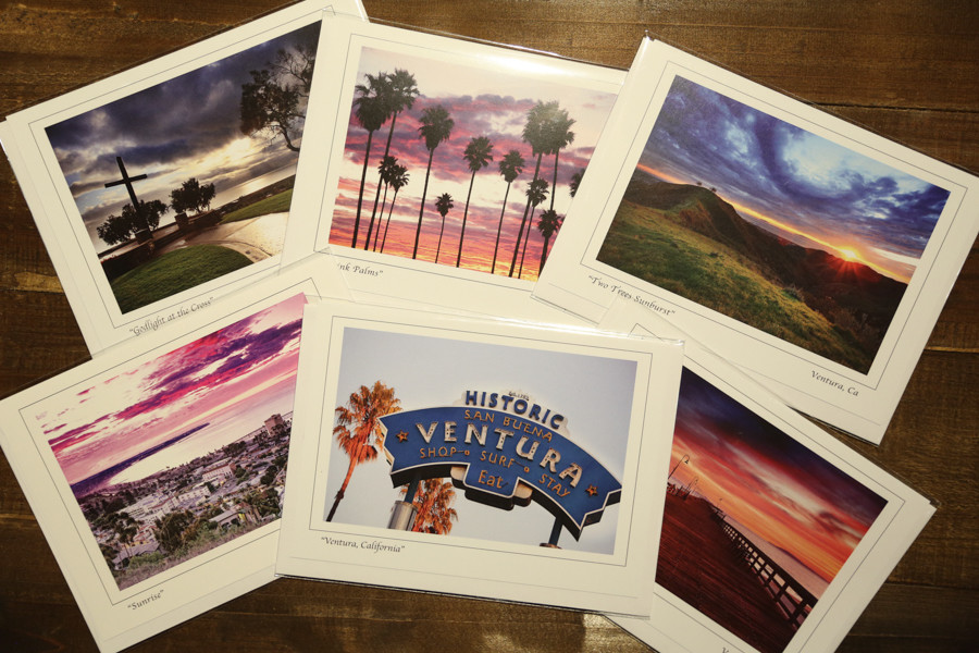 Ventura Set of Notcards