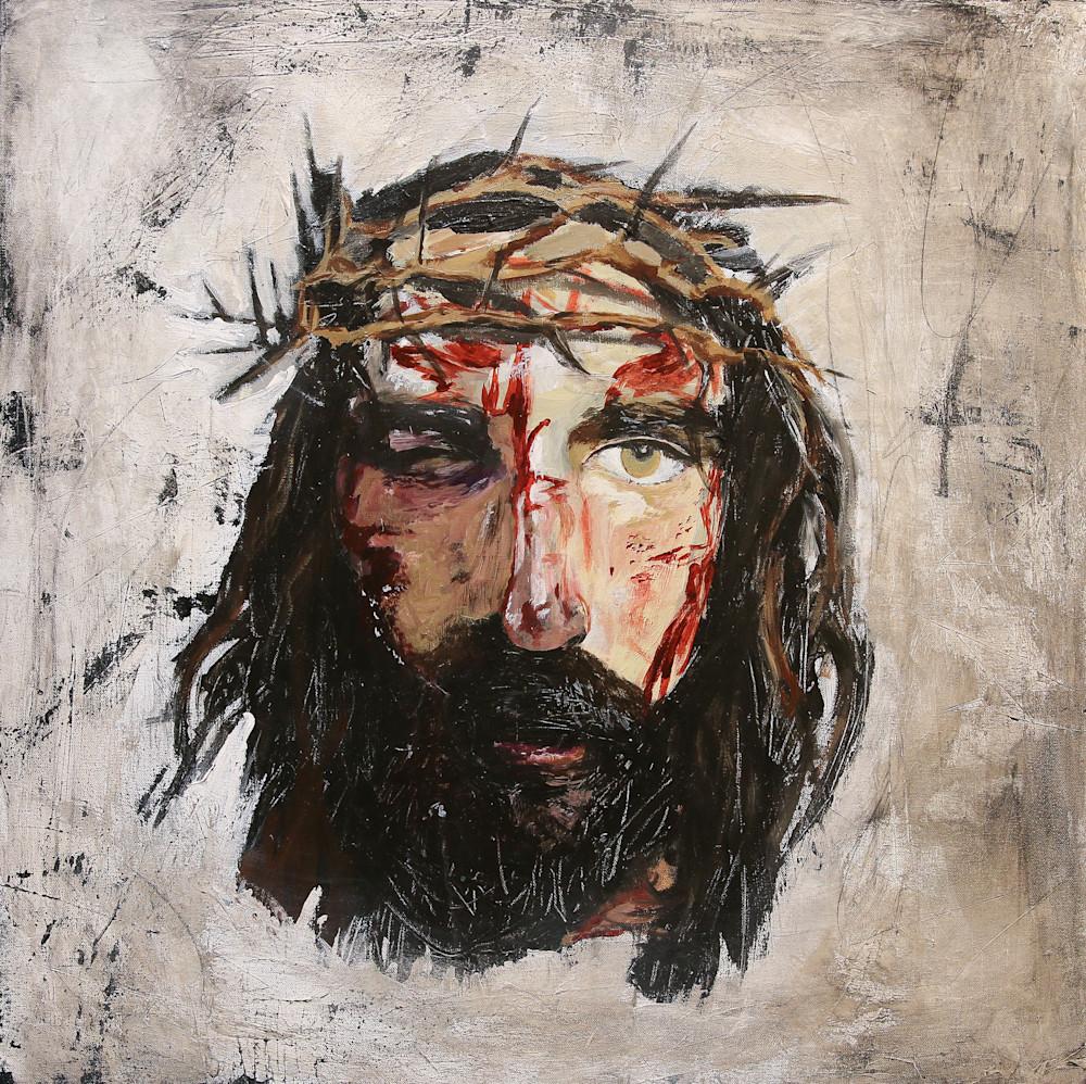 Contemporary Paintings Of Jesus Jesus Art Print