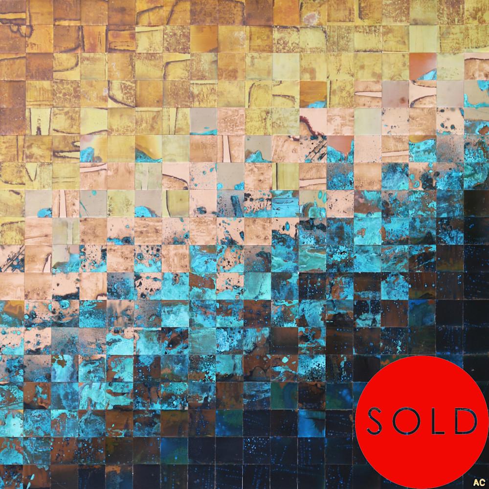 Original fine art by contemporary copper artist Adam Colangelo