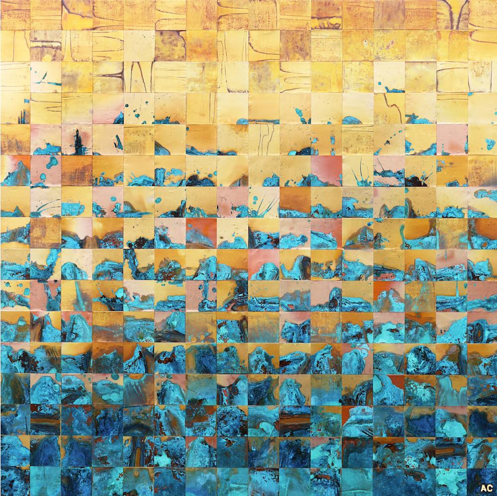 Paradiso Series - Contemporary copper art by metal artist Adam Colangelo
