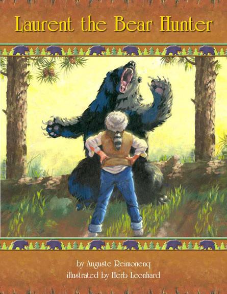 Laurent the Bear Hunter-cover-storybooks