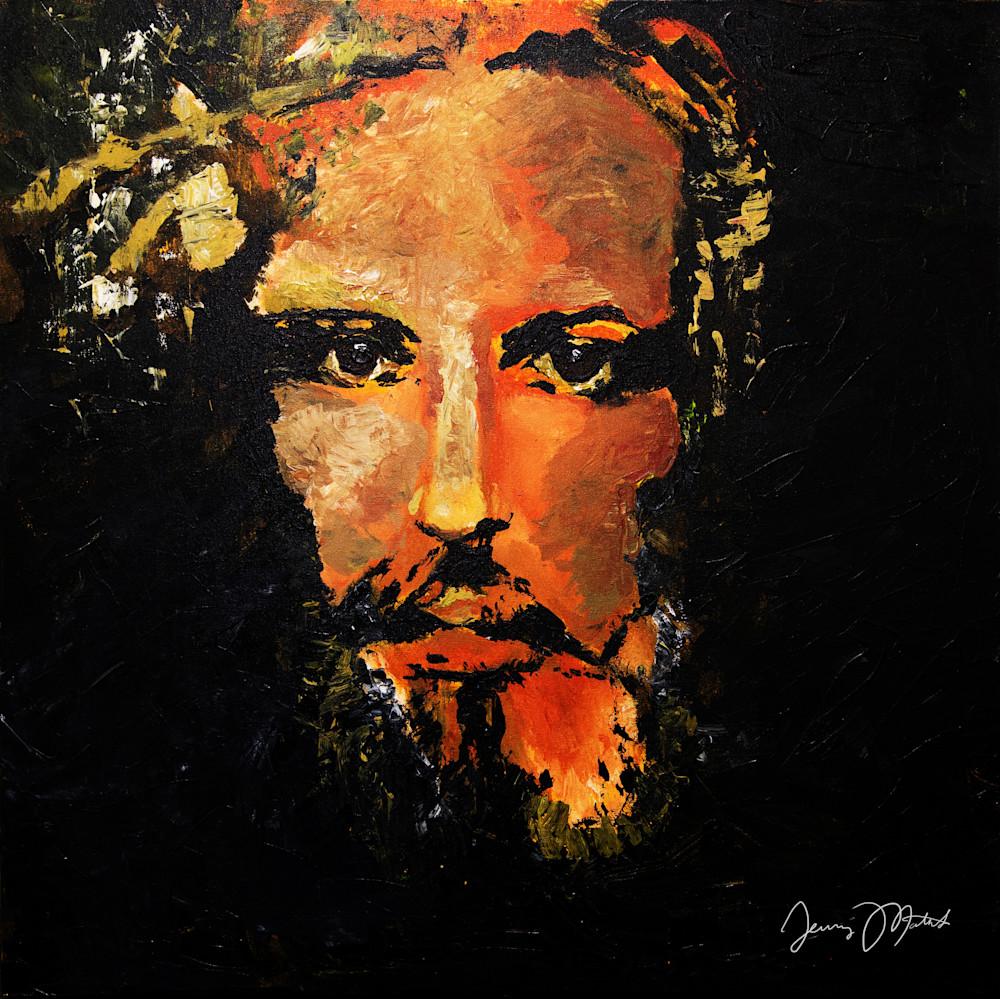 Jesus Art Print Christian Art Christian Painting