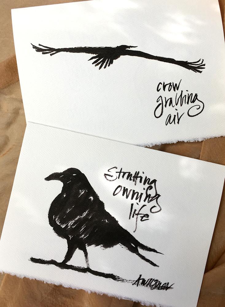 Raven-grabbing-air-strutting-ljqehq
