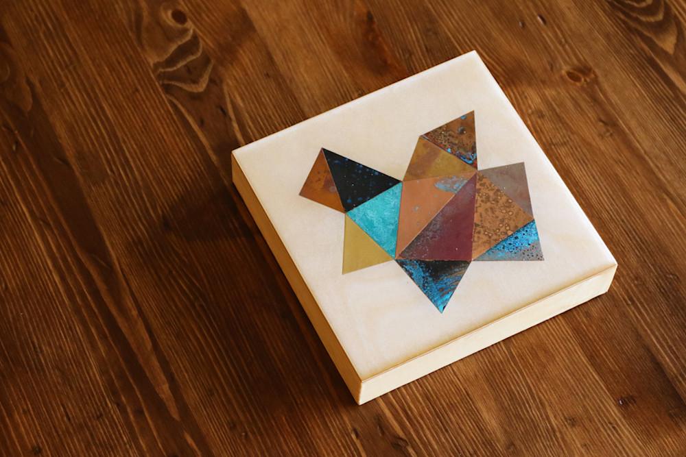 Crystalline Series by contemporary copper artist Adam Colangelo
