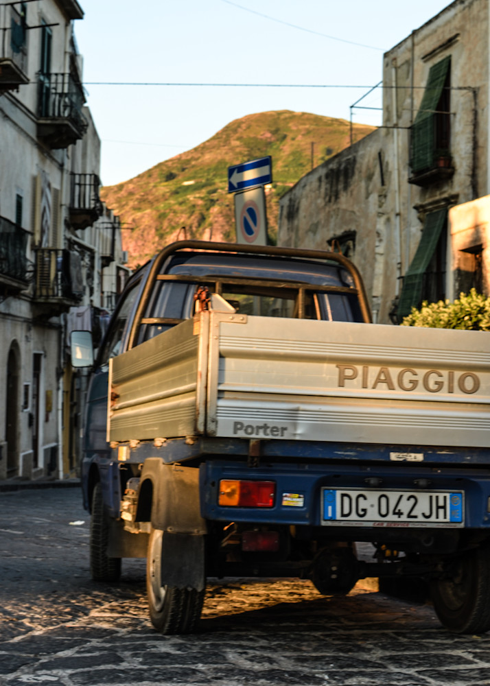 Piaggio Truck Fine Art Travel Photograph