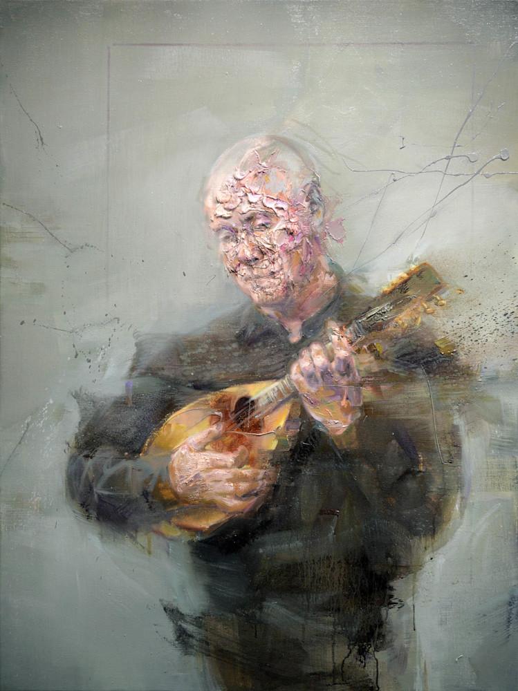 Jean à la mandoline