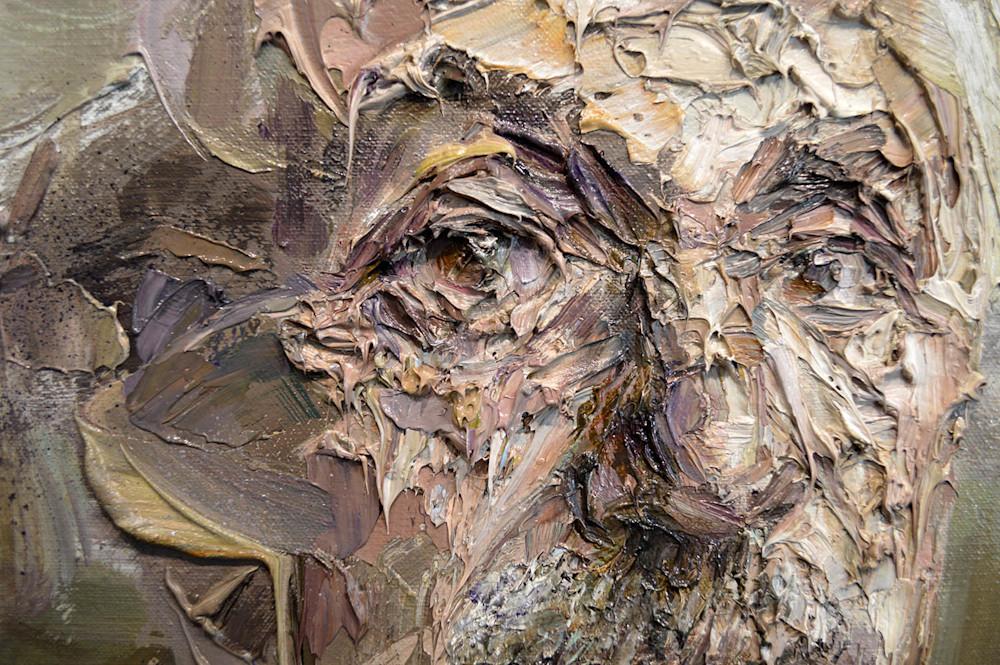 Einstein portrait painting