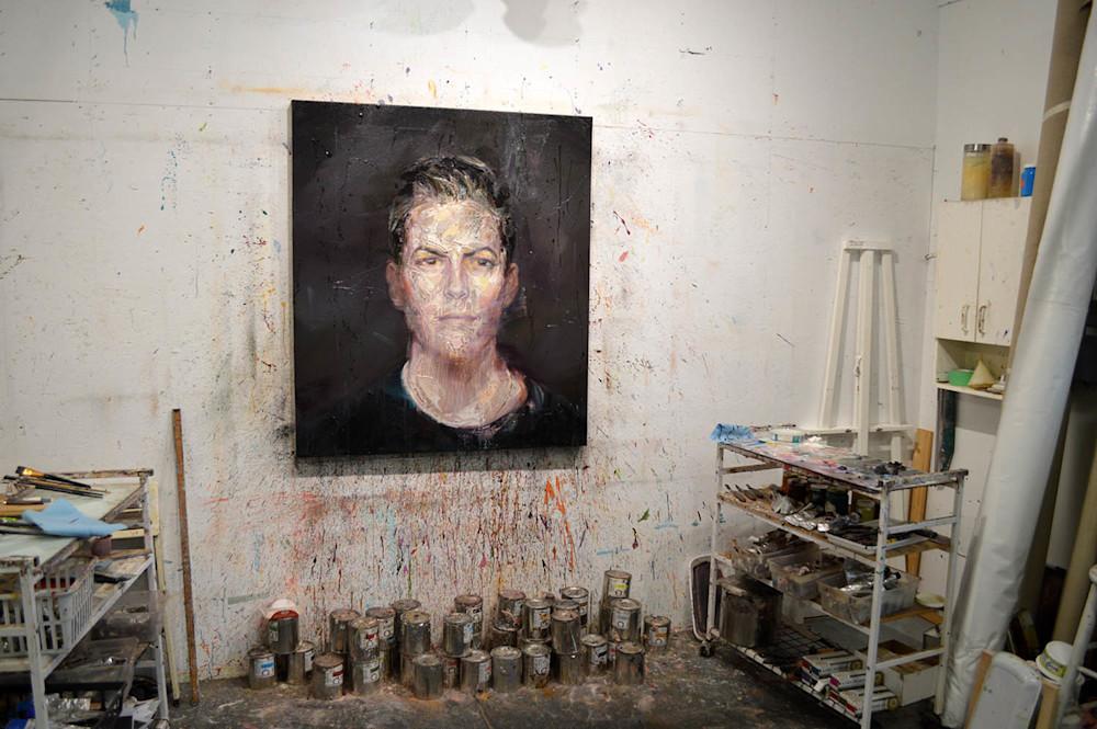 Salman Yousra Portrait in the studio