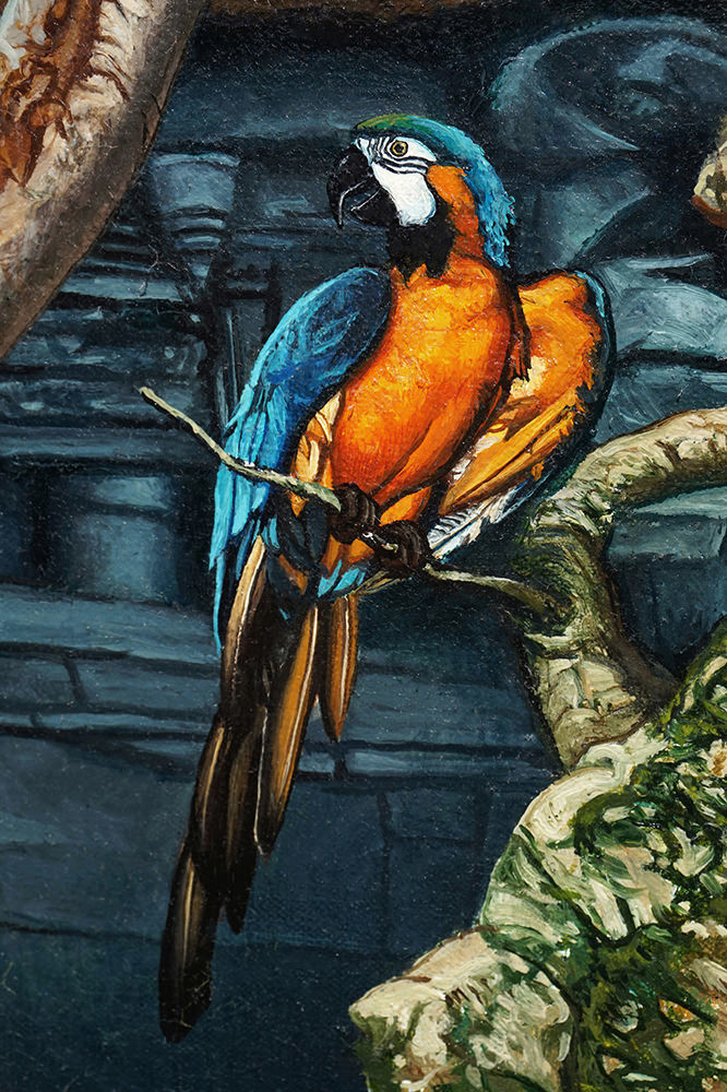 Kevin-Grass-Tree-of-Life-detail-3-Oil-on-canvas-painting-mini-bfxwap