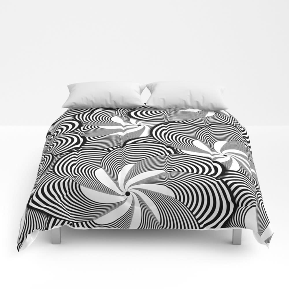 Black and white flower pattern decorative bedding black and white flower pattern ny0 comforters q8weu4 mightylinksfo