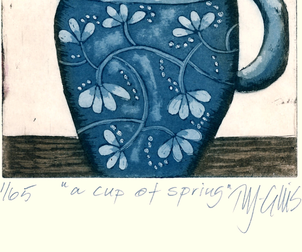 a cup of spring signature