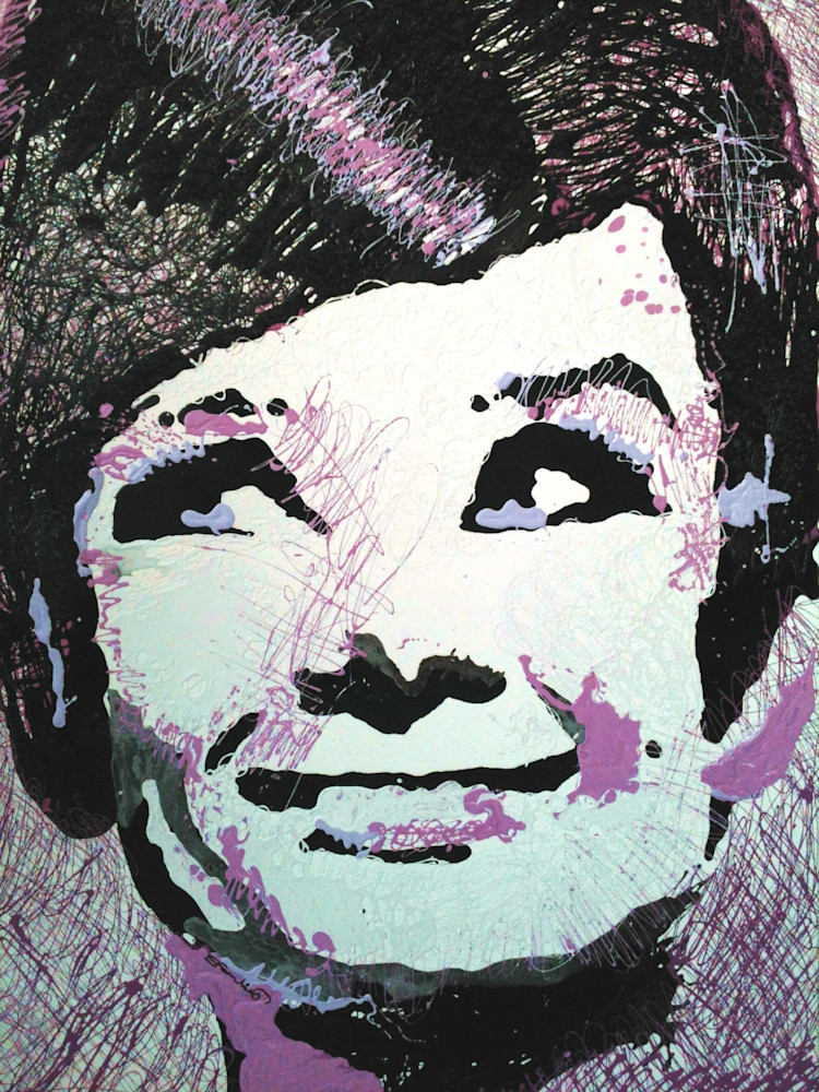 Audrey Hepburn dripped by Steph Fonteyn