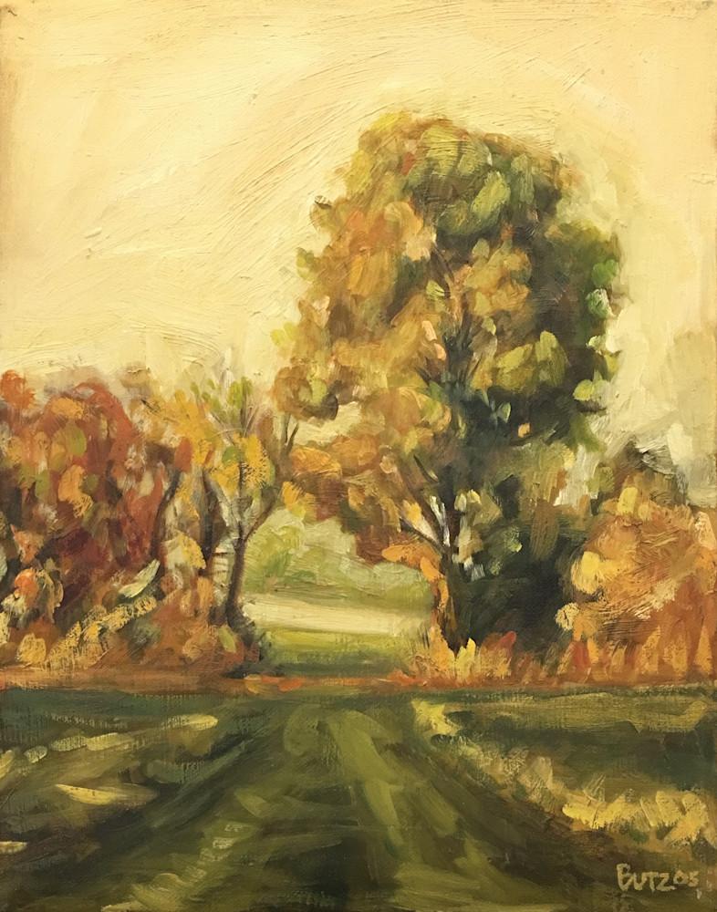 Passage through trees