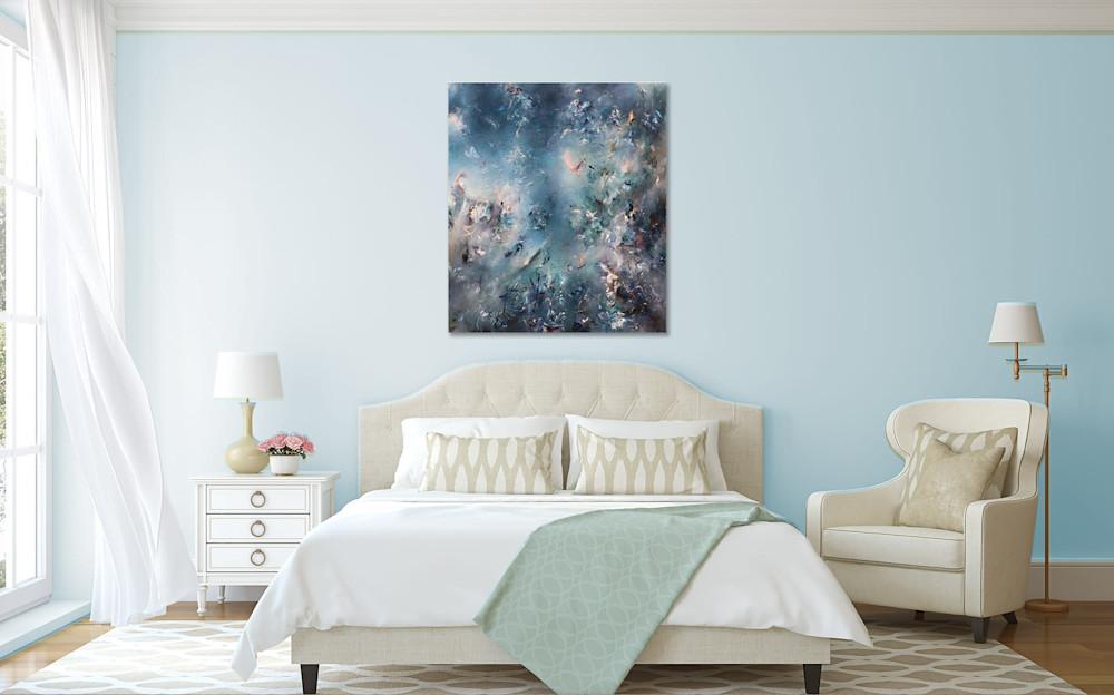 morning dream bedroom blue