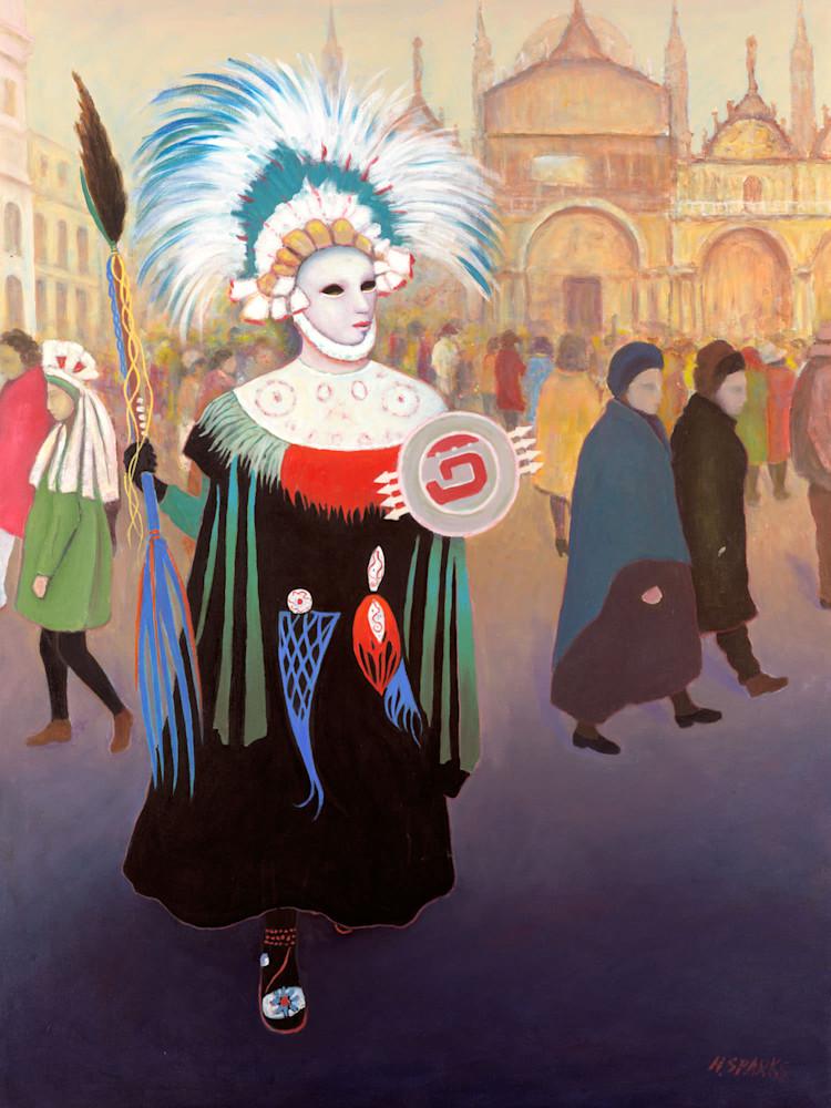 H SPARKS 013 Aztec Girl