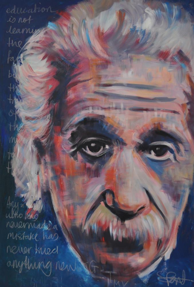 Einstein II by Steph Fonteyn 2017