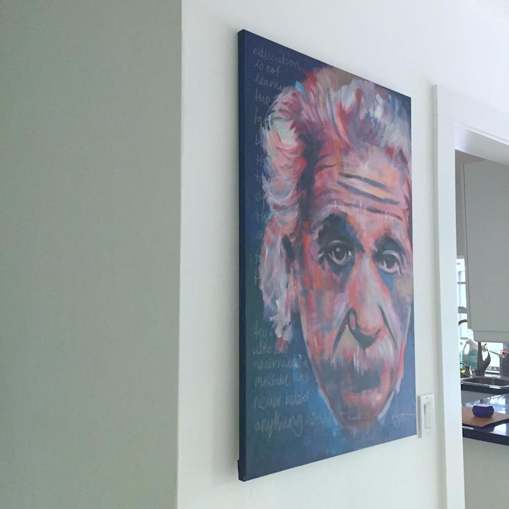 Einstein II by Steph Fonteyn in situ