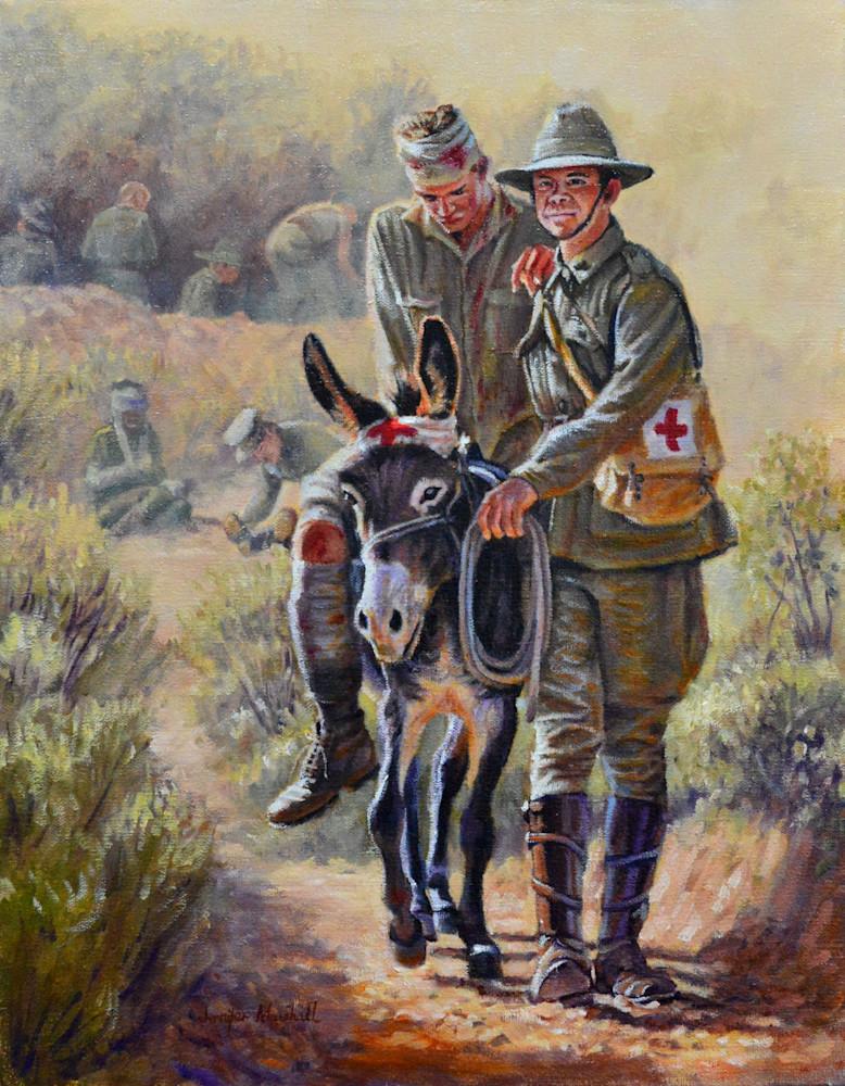 J MARSHALL 011 Donkey Ambulance
