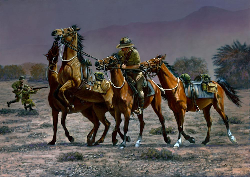 J MARSHALL 028 The Horse Holder