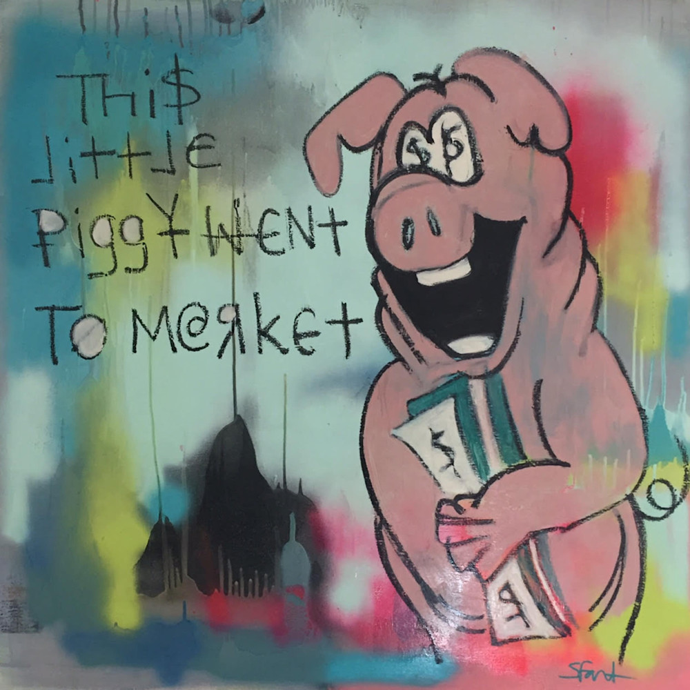 This little piggy went to market by Steph Fonteyn