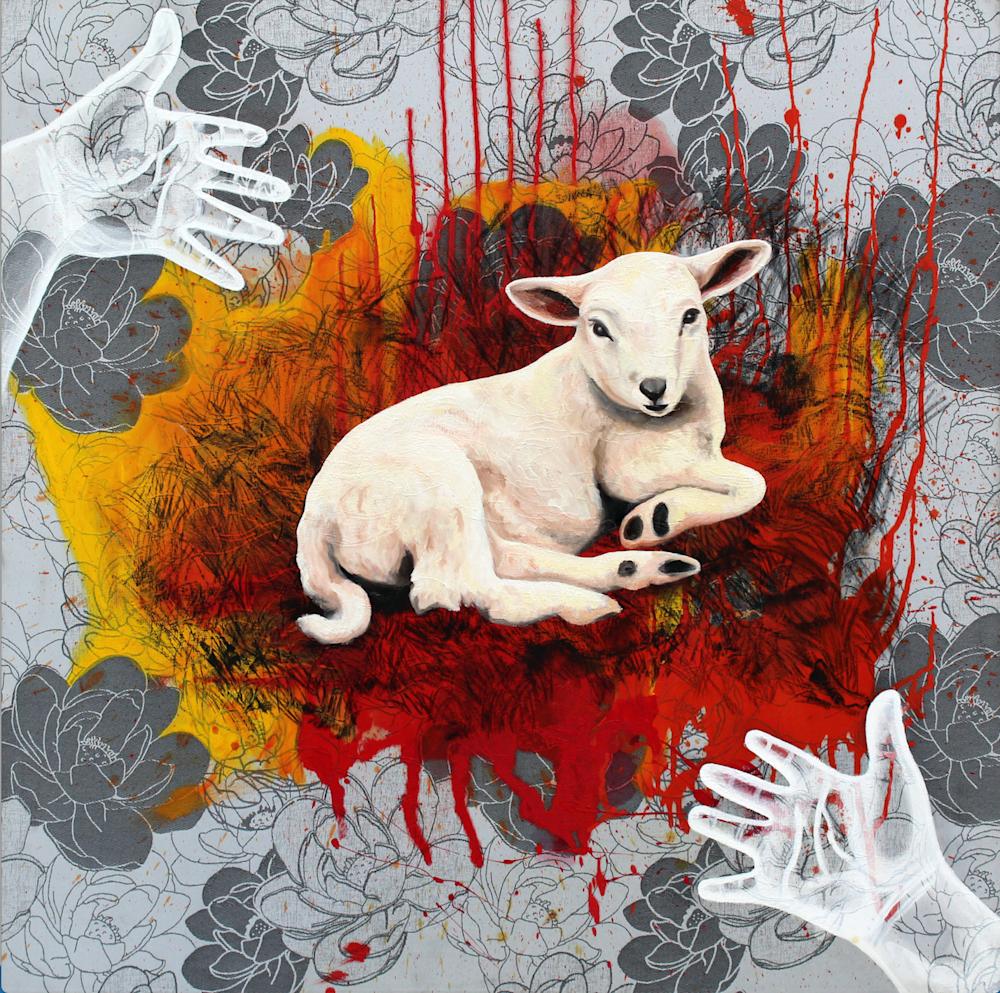 The Lamb 1 by Daniel Zamitiz