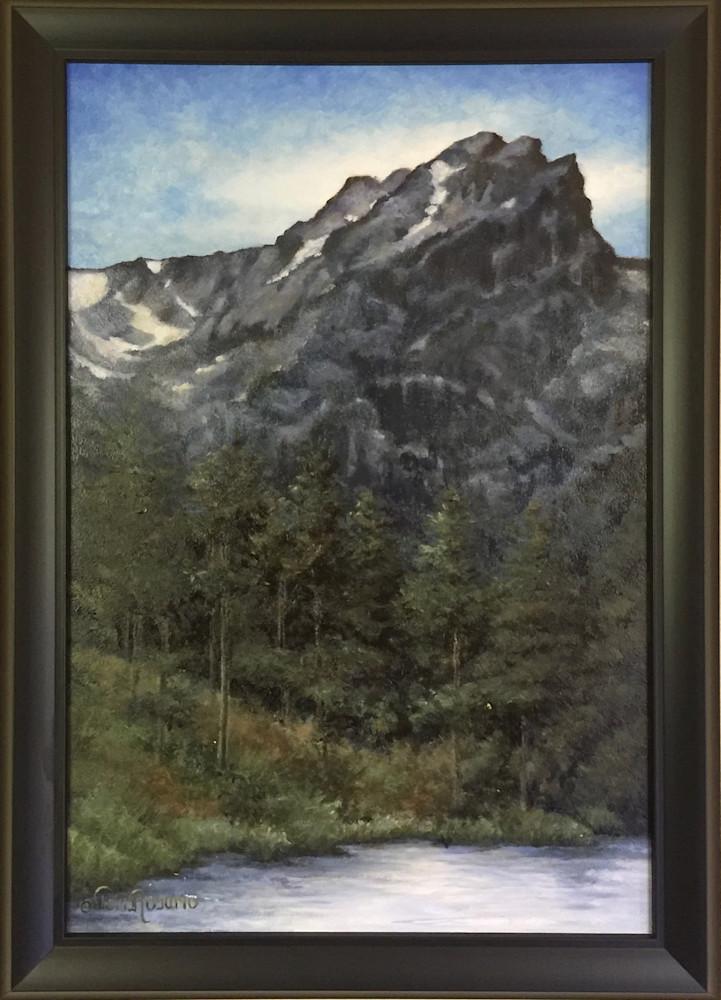 Hallet Peak Framed