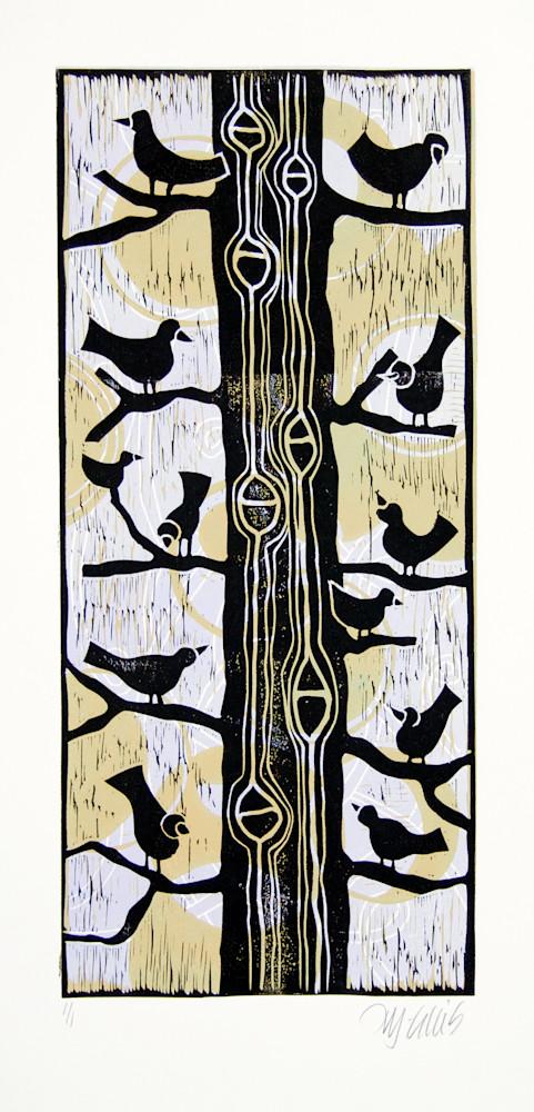 Birds in a tree 2118