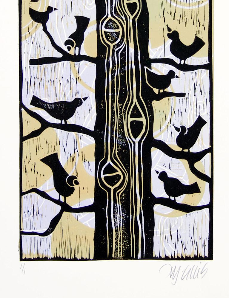Birds in a tree 2118 signature