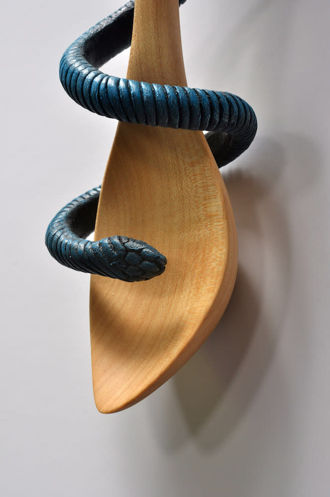 LeVier Talisman for the Home Light Blue bowl detail