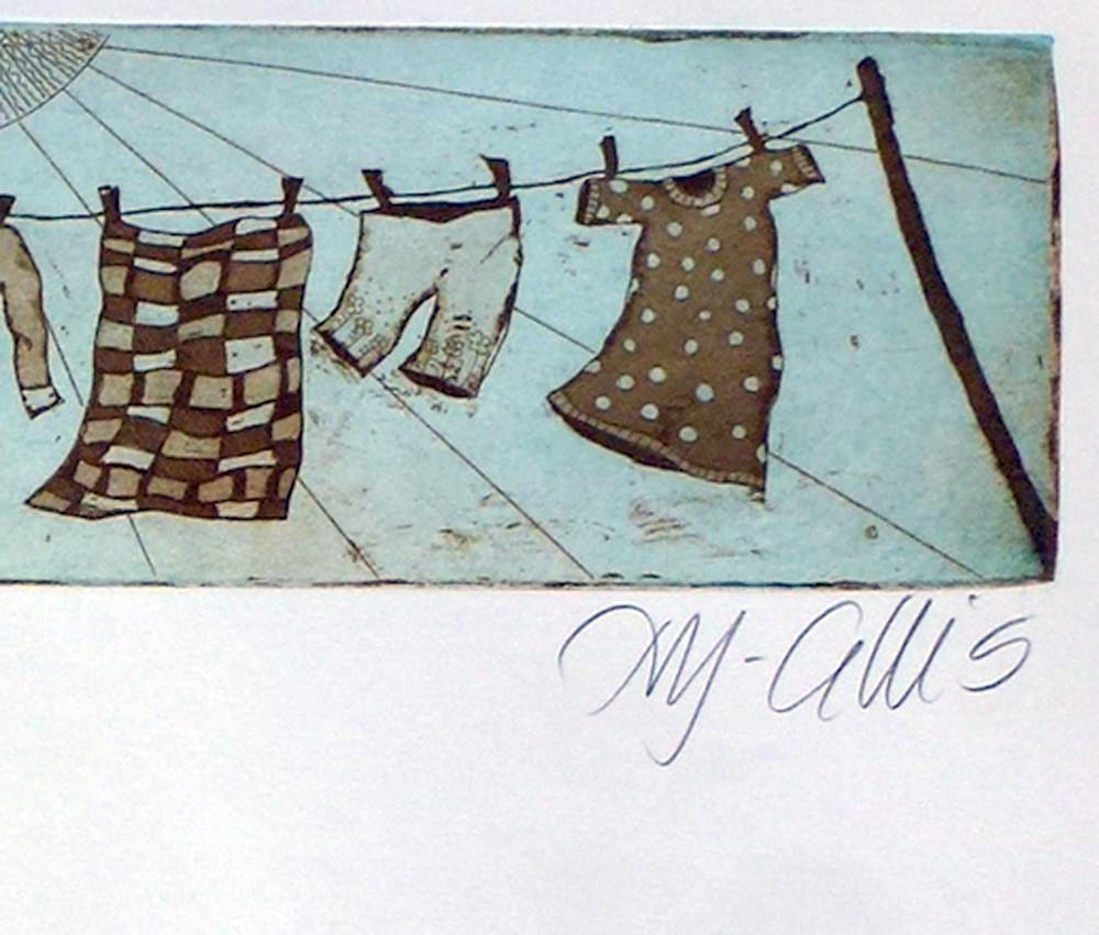 Wash day blue sepia signature AF