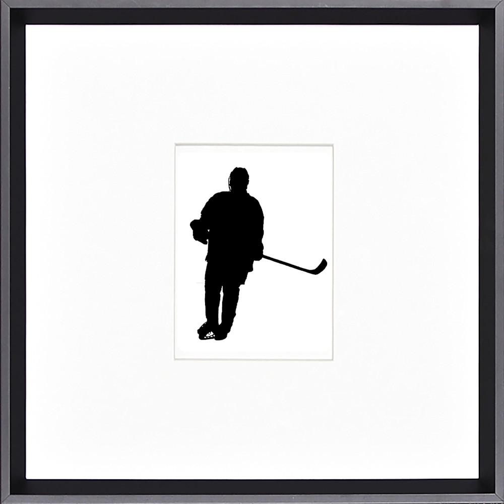 Westwater hockey silhouette framed