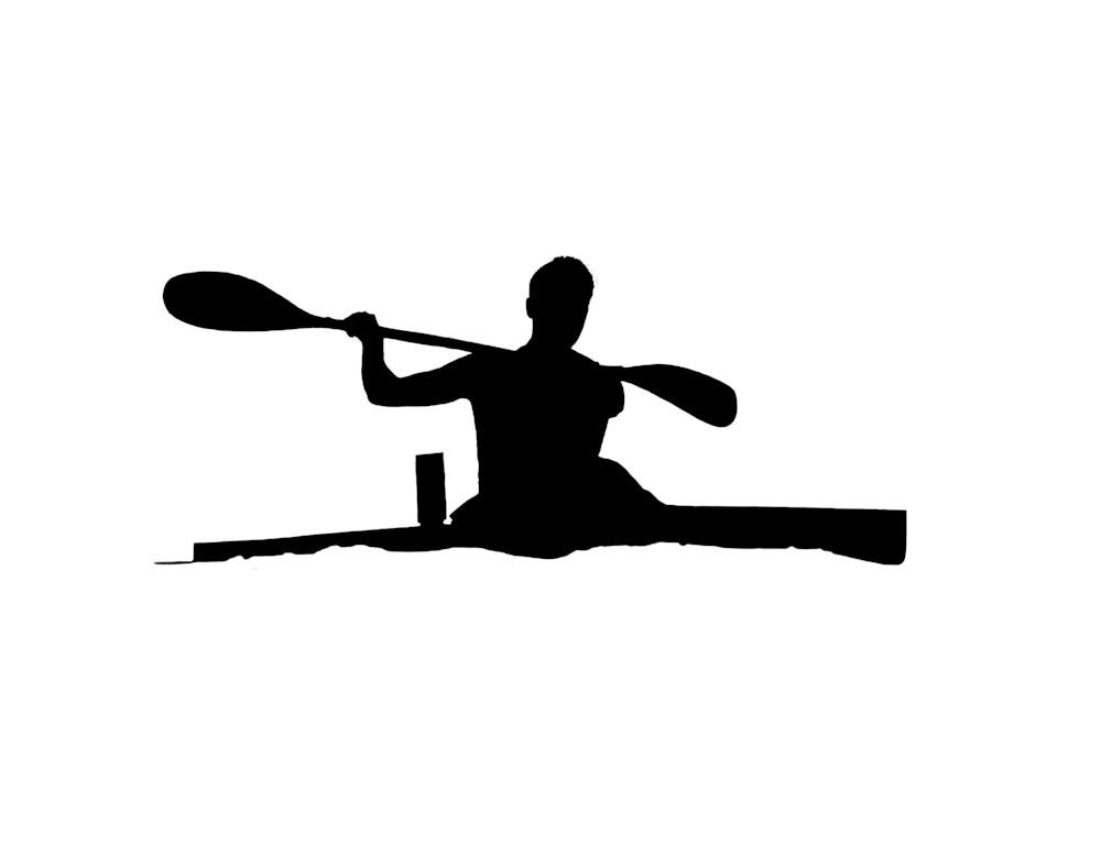 tyler kayak silhouette